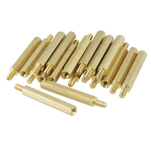 Brass Threaded Spacer