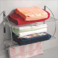 Double Towel Rack