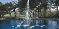 Three stage fountain/flower jet fountain