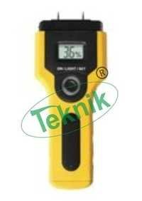 Wood moisture meter in box