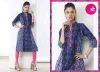 Printed Casual Girls Kurtis