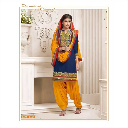 Cotton summer wear salwar kameez 2651