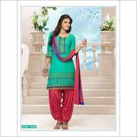 Indian Cotton Patiala suit 2660