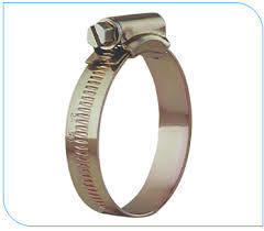Mild Steel Worm Drive Hose Clamp