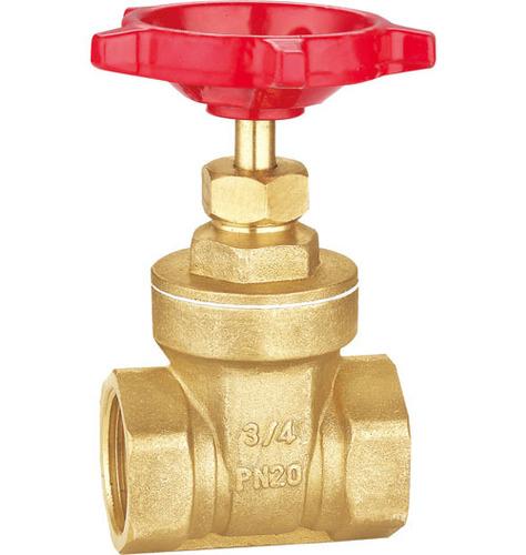 Brass gate valves