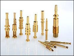 Brass valve spindle
