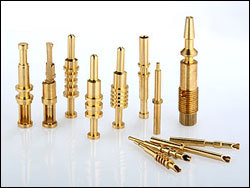 Brass valve spindle