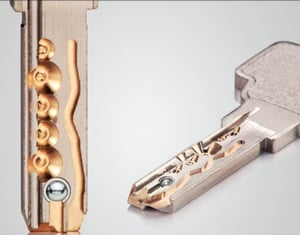 High Security Mortise Lock Cylinder
