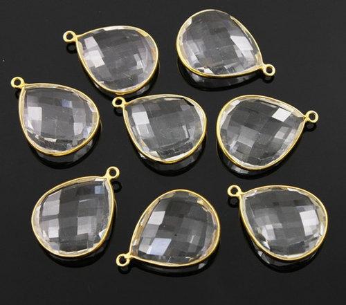 Crystal Gemstone Connectors