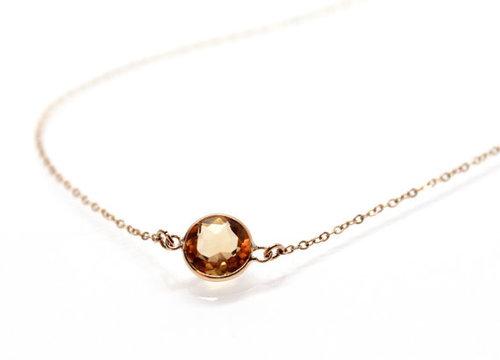 Citrin Gemstone Pendant