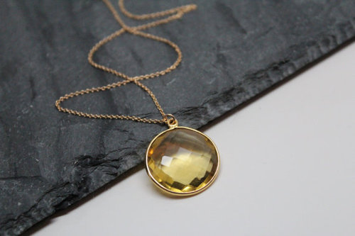 Citrine Pendants