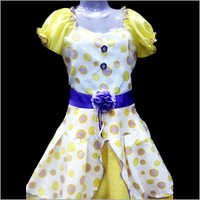 Printed Cotton Frock