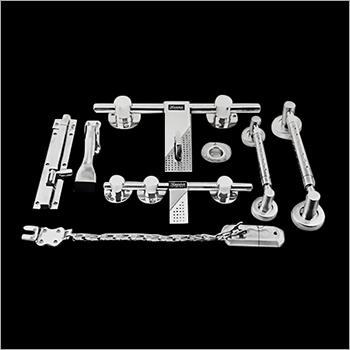 16 mm Rod Round Gola Heavy Door Kit
