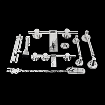 16 mm Rod Round Gola Heavy Door Kit