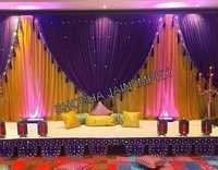 Sangeet Drapes Stage