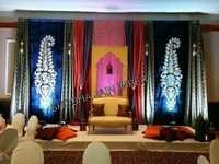 Indian Wedding Sangeet Stage