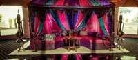 Moroccan Sangeet Stage