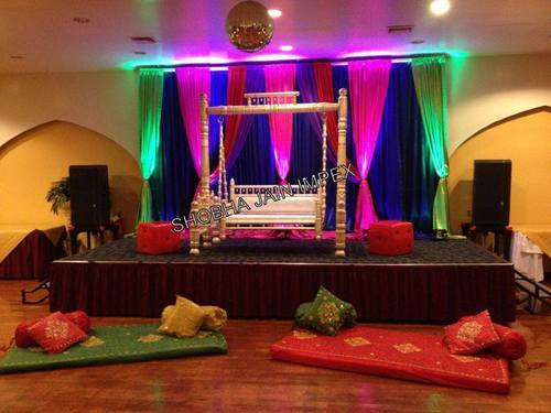 Beautiful Sangeet Wedding Stage