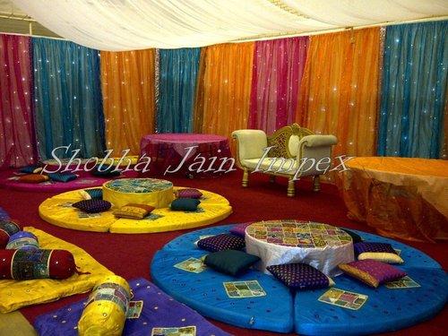 Floor Sitting Sangeet Stage
