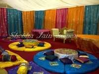 Floor Sitting Sangeet Stage