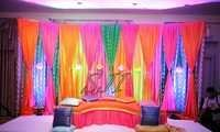 Wedding Mehendi Stage