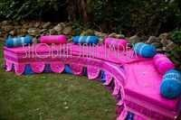 Half Round Bench for Sangeet