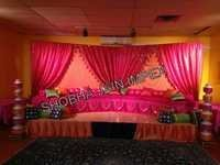 Chori Set Sangeet Stage