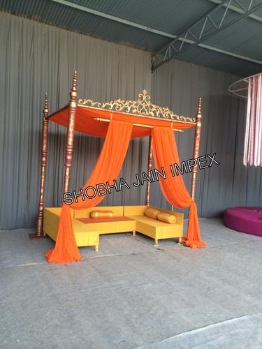 Mehendi Function Furniture Bench