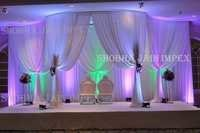 Plain Mandap Curtain
