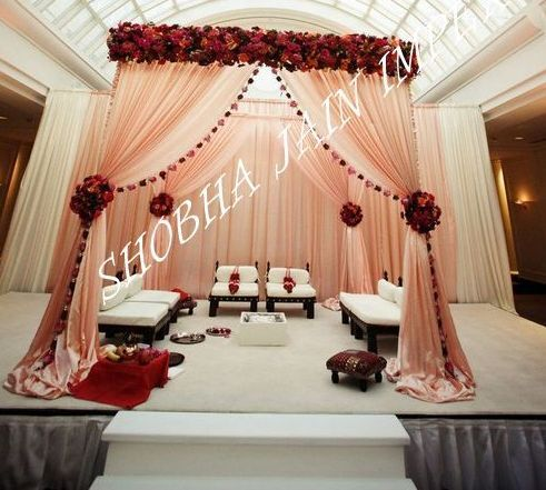 Mandap Curtains