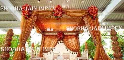 Wedding Curtain With Jhaler