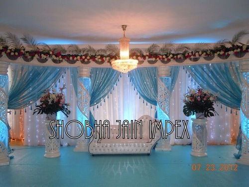 Mirror Border Drapes