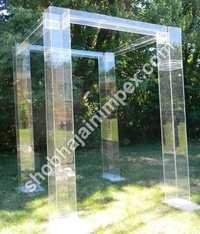 Wedding Mandap Acrylic  Pillar