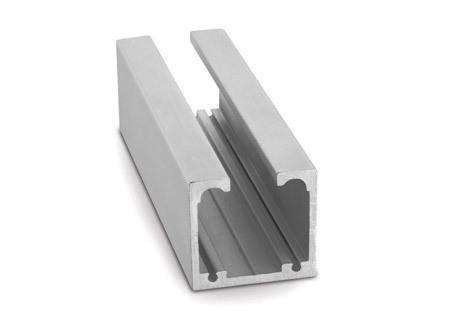 Aluminium Door Frame Track