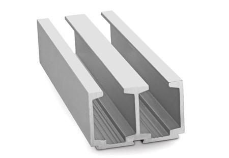 Aluminium Glass Track