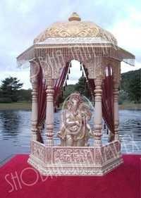 Fiber Ganesh Ji Temple