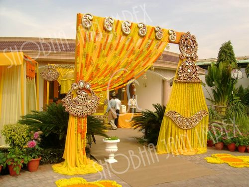 Fiber Kundan Wedding Prop