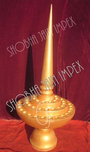 Fiber Candle Decorative Item