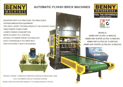 10 Bricks Fly Ash Making Machine