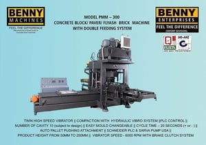 Fully Automatic Color Paver Block Machine