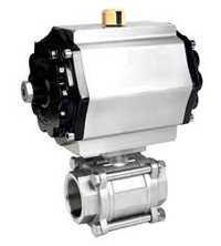 Actuator ball valve