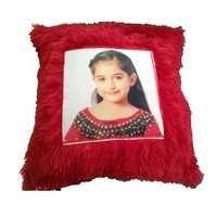 Fur Red Cushion (16