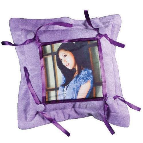 Purple Button CushionDS-389