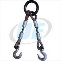 2 LEGGED WIRE ROPE  SLING