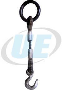 Single Legged Wire Rope  Sling