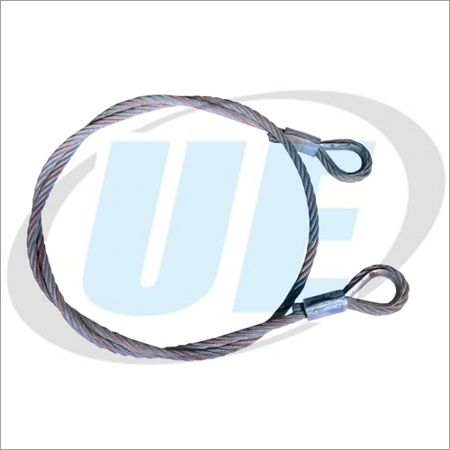 WIRE ROPE SLING WITH BOTH SIDE THIMBLE