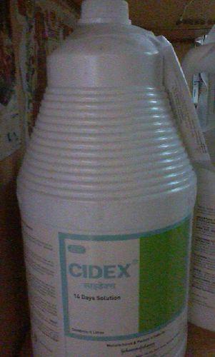 Adhesive Tape & Cidex Solution