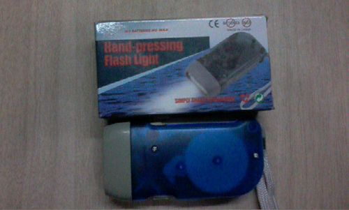 Hand Press Flash Light