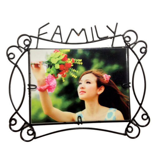 family iron frame with tileDS-241