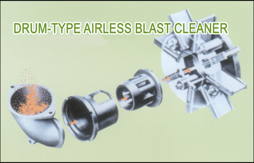 Drum Type Airless Blast Cleaner